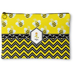 Buzzing Bee Zipper Pouch (Personalized)