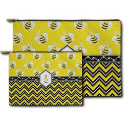 Buzzing Bee Zipper Pouch (Personalized)