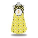 Honeycomb, Bees & Polka Dots Apron (Personalized)