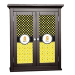 Honeycomb, Bees & Polka Dots Cabinet Decal - Custom Size (Personalized)