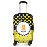 Honeycomb, Bees & Polka Dots Suitcase (Personalized)