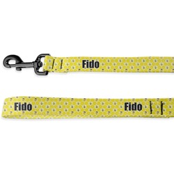Honeycomb, Bees & Polka Dots Deluxe Dog Leash (Personalized)