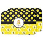 Honeycomb, Bees & Polka Dots Dish Drying Mat (Personalized)