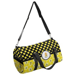 Honeycomb, Bees & Polka Dots Duffel Bag (Personalized)