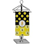 Honeycomb, Bees & Polka Dots Finger Tip Towel - Full Print (Personalized)