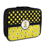 Honeycomb, Bees & Polka Dots Insulated Lunch Bag (Personalized)