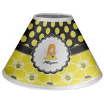 Honeycomb, Bees & Polka Dots Coolie Lamp Shade (Personalized)