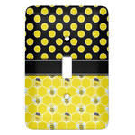 Honeycomb, Bees & Polka Dots Light Switch Covers (Personalized)