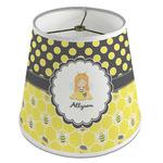 Honeycomb, Bees & Polka Dots Empire Lamp Shade (Personalized)