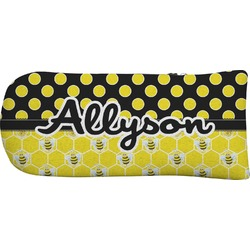 Honeycomb, Bees & Polka Dots Putter Cover (Personalized)
