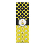 Honeycomb, Bees & Polka Dots Runner Rug - 3.66'x8' (Personalized)