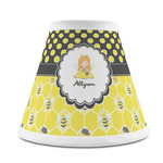 Honeycomb, Bees & Polka Dots Chandelier Lamp Shade (Personalized)