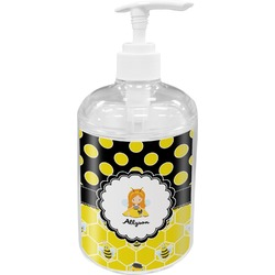 Honeycomb, Bees & Polka Dots Soap / Lotion Dispenser (Personalized)
