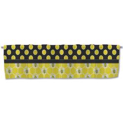 Honeycomb, Bees & Polka Dots Valance (Personalized)