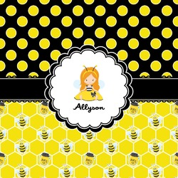 Honeycomb, Bees & Polka Dots