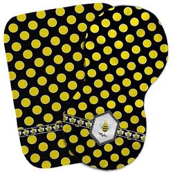 Bee & Polka Dots Burp Cloth (Personalized)