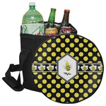 Bee & Polka Dots Collapsible Cooler & Seat (Personalized)