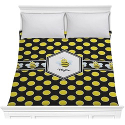 Bee & Polka Dots Comforter (Personalized)