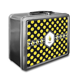 Bee & Polka Dots Lunch Box (Personalized)