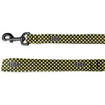 Bee & Polka Dots Deluxe Dog Leash (Personalized)