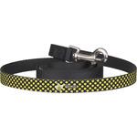 Bee & Polka Dots Dog Leash (Personalized)