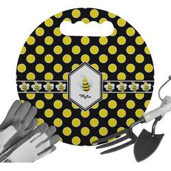 Bee & Polka Dots Gardening Knee Cushion (Personalized)