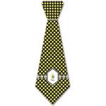 Bee & Polka Dots Iron On Tie - 4 Sizes w/ Name or Text