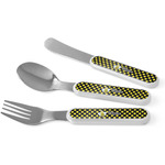 Bee & Polka Dots Kid's Cutlery (Personalized)