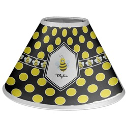 Bee & Polka Dots Coolie Lamp Shade (Personalized)