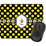 Bee & Polka Dots Mouse Pads (Personalized)