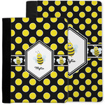 Bee & Polka Dots Notebook Padfolio w/ Name or Text