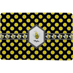 Bee & Polka Dots Comfort Mat (Personalized)