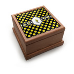 Bee & Polka Dots Pet Urn w/ Name or Text