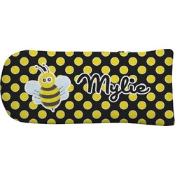 Bee & Polka Dots Putter Cover (Personalized)