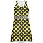 Bee & Polka Dots Racerback Dress (Personalized)