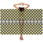 Bee & Polka Dots Sheer Sarong (Personalized)