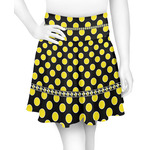 Bee & Polka Dots Skater Skirt (Personalized)