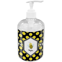 Bee & Polka Dots Soap / Lotion Dispenser (Personalized)