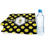 Bee & Polka Dots Sports & Fitness Towel (Personalized)