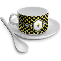 Bee & Polka Dots Tea Cups (Personalized)