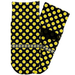 Bee & Polka Dots Toddler Ankle Socks (Personalized)