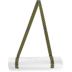 Bee & Polka Dots Yoga Mat Strap (Personalized)