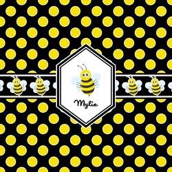 Bee & Polka Dots