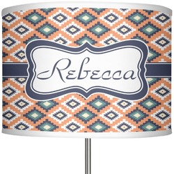 "Tribal 13"" Drum Lamp Shade (Personalized)"