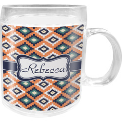 Tribal Acrylic Kids Mug (Personalized)
