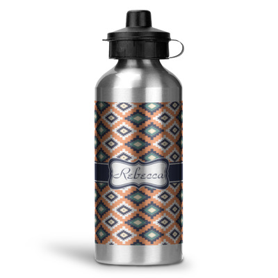 Tribal Water Bottle - Aluminum - 20 oz (Personalized)