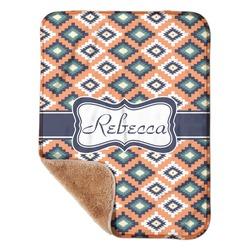 "Tribal Sherpa Baby Blanket 30"" x 40"" (Personalized)"