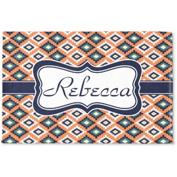 Tribal Woven Mat (Personalized)