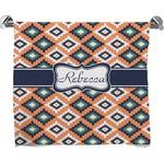 Tribal Full Print Bath Towel (Personalized)