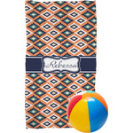 Tribal Beach Towel (Personalized)